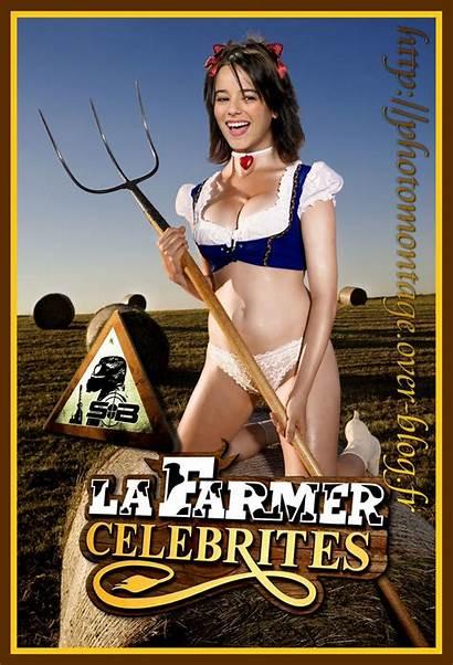 Alizee Fake Farmer Dans Son Est Belle