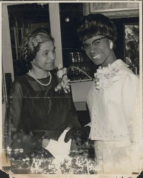 A Rare Vintage Photo Of Rosa Parks With Congresswoman
