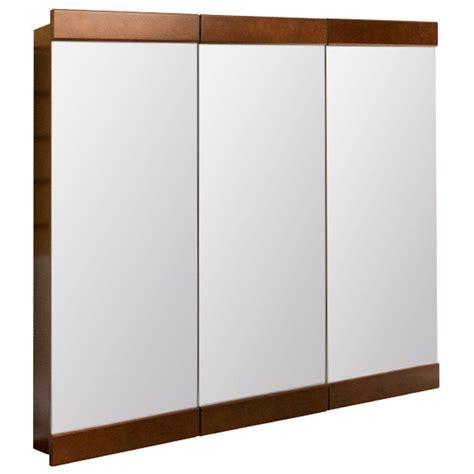 glacier bay medicine cabinet glacier bay 24 1 2 in w x 25 in h framed tri view