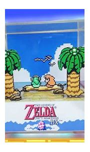 How to Make a Link's Awakening DX 3D Cube Diorama - YouTube