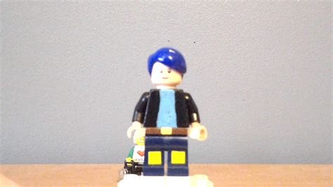 custom lego dantdm minifigure youtube