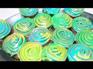 DIY Neon Swirl Cupcakes ♡ Theeasydiy ChefJess