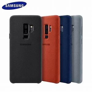 Samsung Galaxy S9 Plus Hülle Original : capa case original samsung galaxy s9 plus alcantara cover ~ Kayakingforconservation.com Haus und Dekorationen