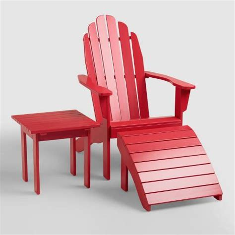 barbados cherry adirondack chair world market