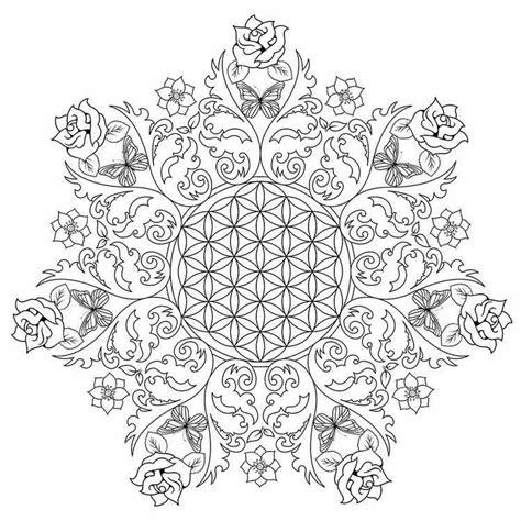 Ausmalbilder mandala fur erwachsene 08 geometrische malvorlagen. Ausmalbilder für Erwachsene zum Ausdrucken - 30 schöne Malvorlagen