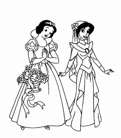 Disney Kleurplaat Coloring Kleurplaten Prinsessen Coloriage Princesses
