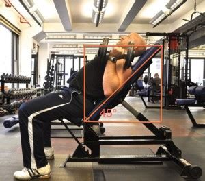 Incline Bench Press Angle by 45 Degree Incline Db Press Parallel Grip Physiqology
