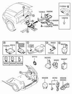 2008 Hyundai Tucson Relay  U0026 Module