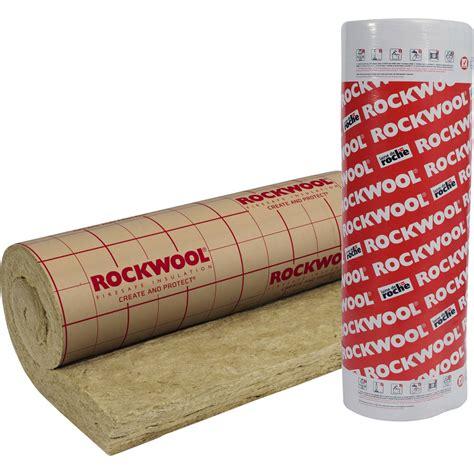 Laine de roche Roulrock Kraft ROCKWOOL 2 4 x 1 2 m Ep