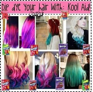 U0026quotdip Dye Your Hair Withkool Aidu0026quot By Nialls Princess13