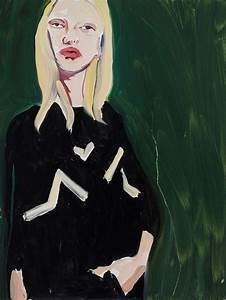 Light Absorbing Paint Chantal Joffe I Want To Make The Painting Feel Like The