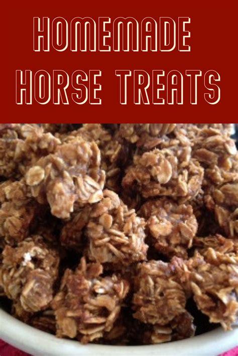 treats horse homemade motherearthnews livestock horses safe