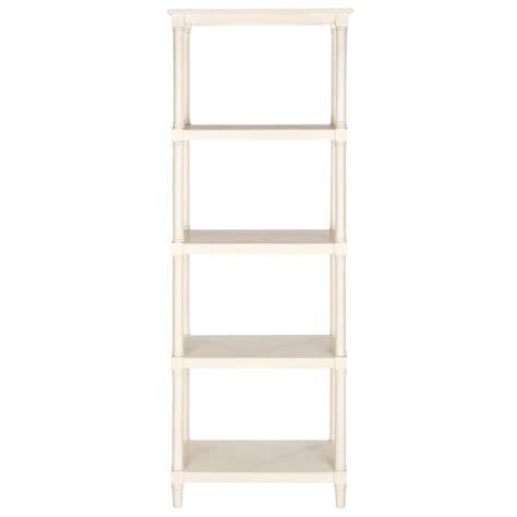 White Open Bookcase by Hton Bay 5 Shelf Standard Bookcase In White Thd90004 1a