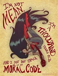 Marceline (taaaaan Only lovers left alive). # ...