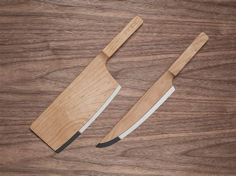 Maple Wood Knives By The Federal Inc