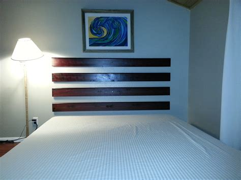 How To Make An Easy Headboard by Diy How To Make A Floating Headboard For Cheap And Easy