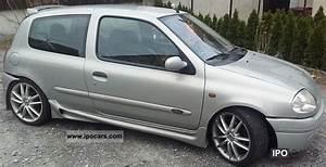 Clio 2 2000 : 2000 renault clio 1 6 16v initial car photo and specs ~ Medecine-chirurgie-esthetiques.com Avis de Voitures