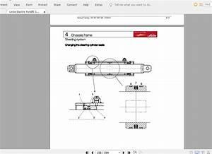Linde Forklift Series 387 E20 E25 E30 E35 En 1403 St
