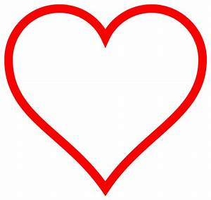 File:Heart icon red hollow.svg - Wikipedia