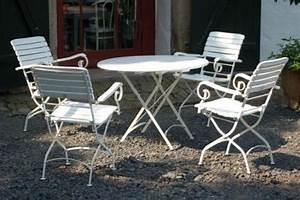 Gartenstühle Metall Holz : gartenst hle holz wei ~ Michelbontemps.com Haus und Dekorationen