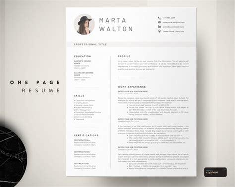 creative resume template word teacher resume  photo