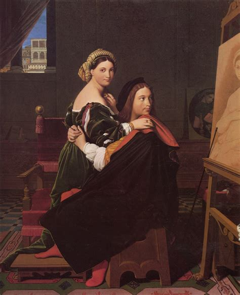 Filejean Auguste Dominique Ingres Raphael And The