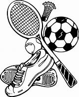 Sports Coloring Pages Print Clip sketch template