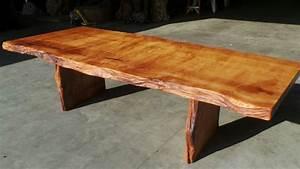 Rustic Furniture Live Edge Wood Furniture Redwood Burl