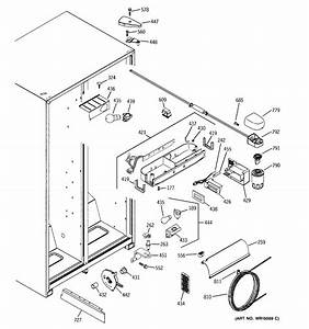 Fresh Food Section Diagram  U0026 Parts List For Model