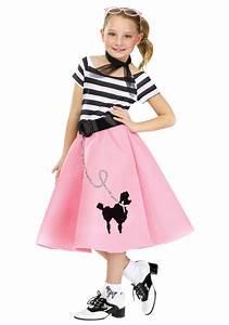 Girls Poodle Skirt Dress