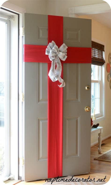 wrapped for the holidays my front door