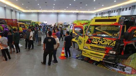 kontes modifikasi truk terbesar  indonesia digelar  jogja