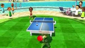 Wii Sports Resort - Table Tennis Superstar Class 2500 - Dolphin 4.0.2 Wii Emulator - YouTube  Table Tennis Sports