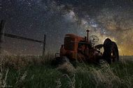 Milky Way Over South Dakota