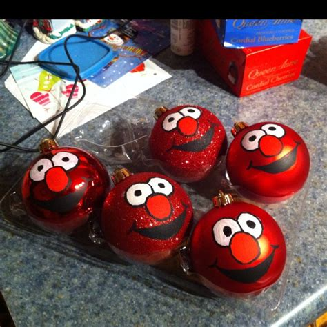 17 best images about elmo on pinterest christmas balls