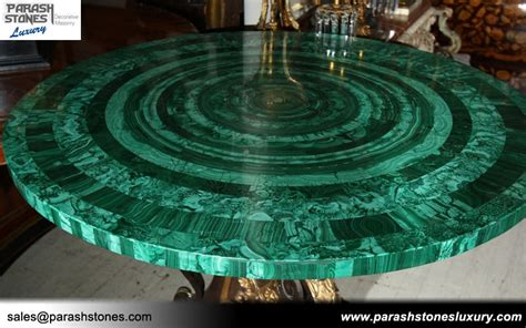 green kitchen backsplash luxury slab furniture in malachite semi precious