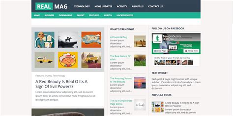 best free bloggong templates 20 best responsive seo ready free templates