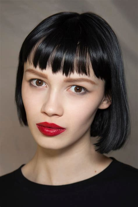 Black Hairstyles Bob With Bangs by 12 Great Hairstyles With Bangs Pretty Designs