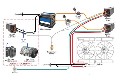 Wiring Safely Fan Relay With Racing