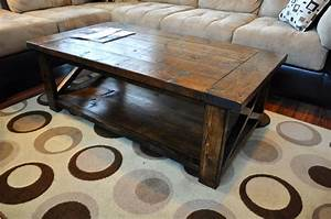 ana white farmhouse style rustic x coffee table diy With rustic looking coffee tables
