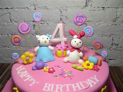 Kitty Hello Birthday Cake Cakes Decoration