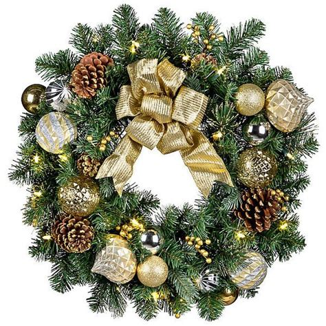 17 best ideas about pre lit christmas wreaths on pinterest