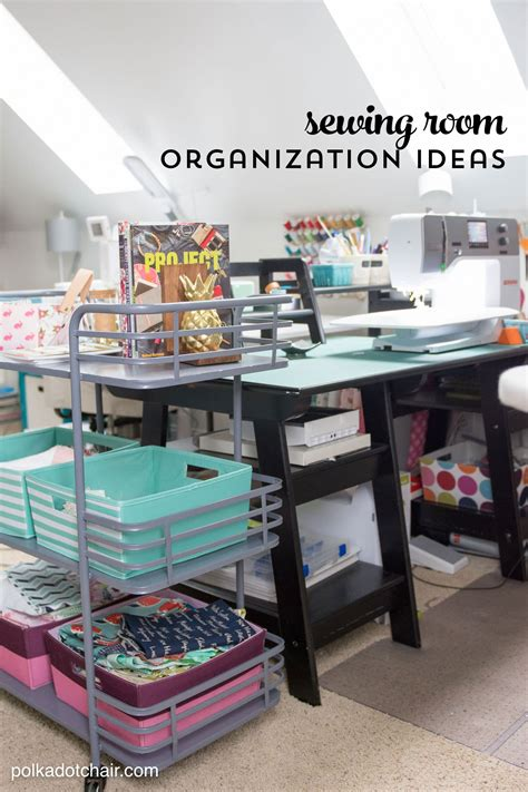 Bedroom Organization Makeover Ideas by Room Makeover Reveal Sewing Room Ideas The Polka Dot Chair