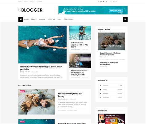 The Blogger Template Documentation Themexpose