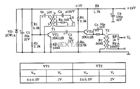 450 800hz signal generator circuit diagram oscillator circuits 58761 next gr