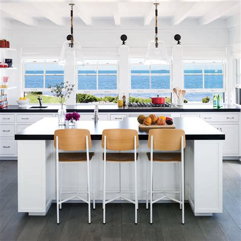 beach house kitchen cabinets 5 star beach house kitchens coastal living