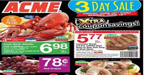 acme weekly ad preview valid to June 22 2017 - weekly ads