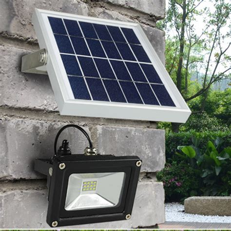 aliexpress buy outdoor solar powered led flood light