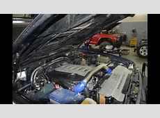Nissan Patrol swap BMW engine 3,0d M57N2 and 35