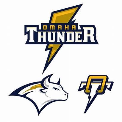Thunder Omaha Madden Concept Sports Logos Concepts